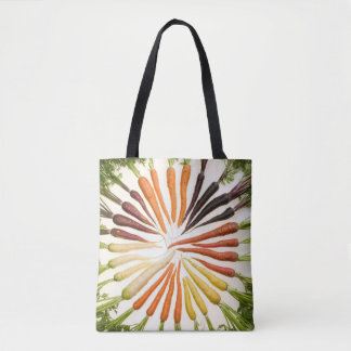 Colorful Carrots Tote Bag