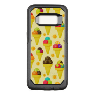 Colorful Cartoon Ice Cream Cones OtterBox Commuter Samsung Galaxy S8 Case