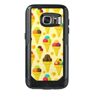 Colorful Cartoon Ice Cream Cones OtterBox Samsung Galaxy S7 Case