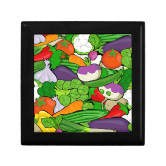 Colorful Cartoon Vegetables Gift Box