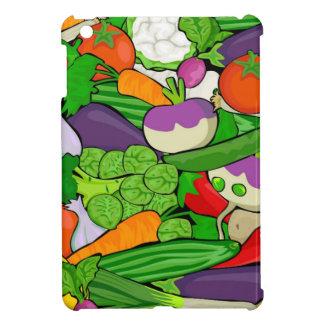 Colorful Cartoon Vegetables iPad Mini Case