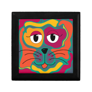 Colorful cat 2 gift box