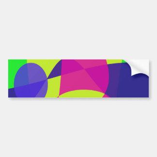 Colorful Caterpillar Bumper Stickers