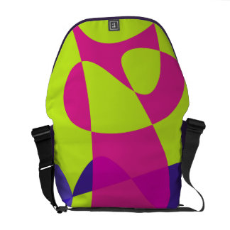 Colorful Caterpillar Courier Bag
