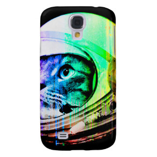 colorful cats - Cat astronaut - space cat