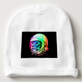 colorful cats - Cat astronaut - space cat Baby Beanie