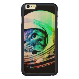 colorful cats - Cat astronaut - space cat Carved Maple iPhone 6 Plus Case
