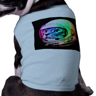 colorful cats - Cat astronaut - space cat Dog Shirt