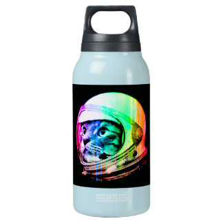 colorful cats - Cat astronaut - space cat Insulated Water Bottle