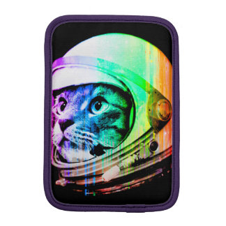 colorful cats - Cat astronaut - space cat iPad Mini Sleeve