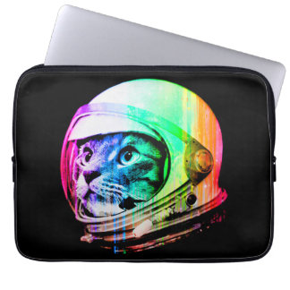 colorful cats - Cat astronaut - space cat Laptop Sleeve
