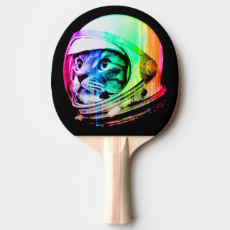 colorful cats - Cat astronaut - space cat Ping Pong Paddle