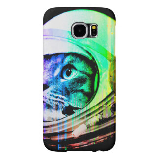 colorful cats - Cat astronaut - space cat Samsung Galaxy S6 Case