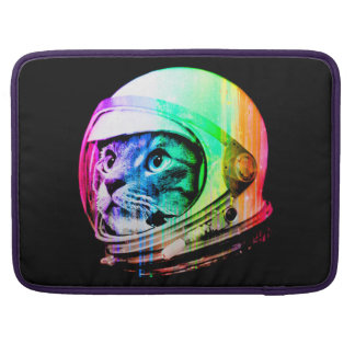 colorful cats - Cat astronaut - space cat Sleeve For MacBooks