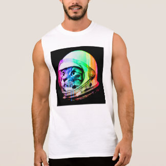 colorful cats - Cat astronaut - space cat Sleeveless Shirt