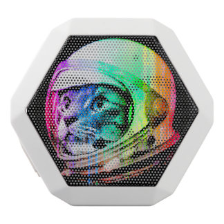 colorful cats - Cat astronaut - space cat White Bluetooth Speaker