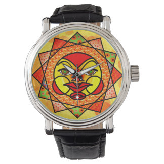 Colorful Celestial Sun Watch