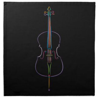 Colorful Cello Napkin