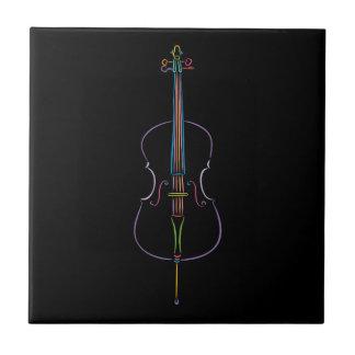 Colorful Cello Tile