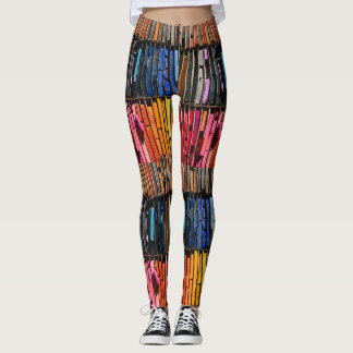 Colorful Chalk Leggings