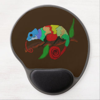 Colorful Chameleon Art Mousepad