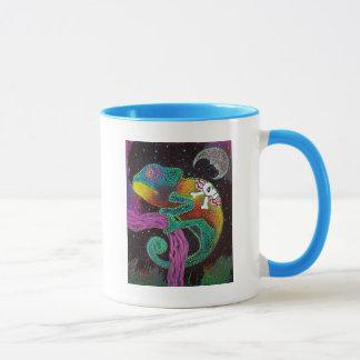 Colorful Chameleon Mug