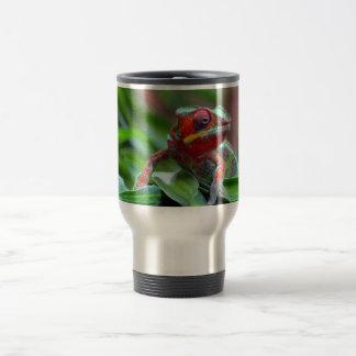 Colorful Chameleon Travel Mug