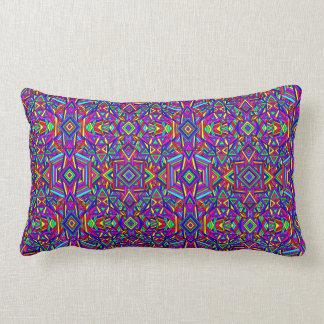 Colorful Chaos 10 Lumbar Pillow