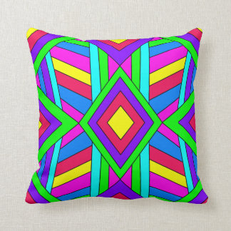 Colorful Chaos 13 Throw Pillow