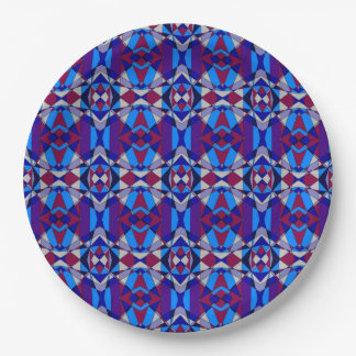 Colorful Chaos 22 Paper Plate