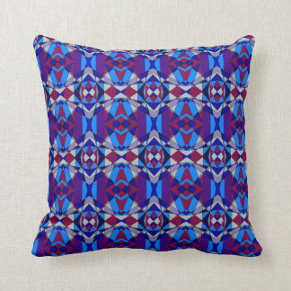Colorful Chaos 22 Throw Pillow