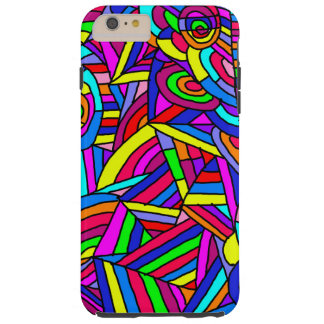 Colorful Chaos 2 Tough iPhone 6 Plus Case