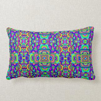 Colorful Chaos 5 Lumbar Pillow
