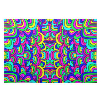 Colorful Chaos 5 Placemat
