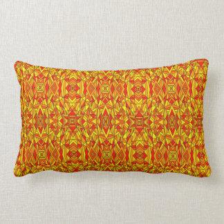 Colorful Chaos 7 Lumbar Pillow