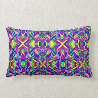 Colorful Chaos 9 Lumbar Pillow