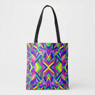 Colorful Chaos 9 Tote Bag