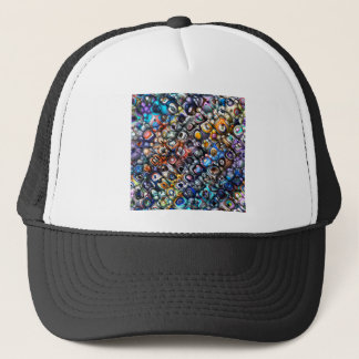 Colorful Chaotic Contours Trucker Hat