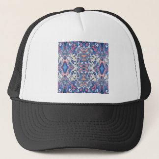 Colorful Chaotic Layers Trucker Hat