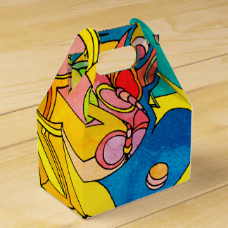 Colorful Cheerful Whimsical Favor Box