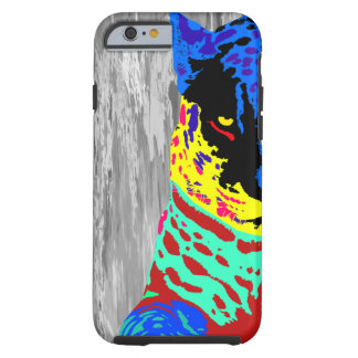 Colorful Cheetah Tough iPhone 6 Case