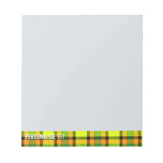 Colorful chess notepad