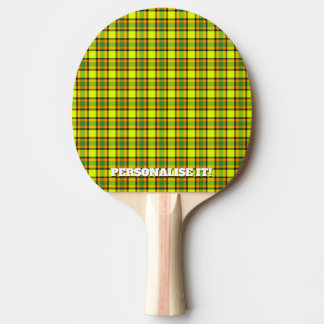 Colorful chess ping pong paddle