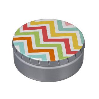 Colorful Chevron Zigzag Stripes Pattern
