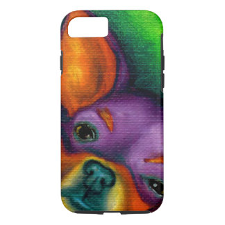 Colorful Chihuahua iPhone 7 Case