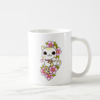 Colorful Chinese Cat Mug 1
