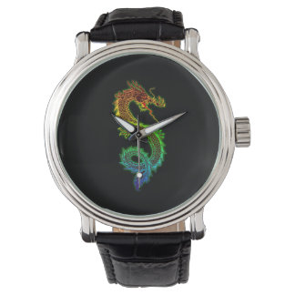 Colorful Chinese Dragon Watch
