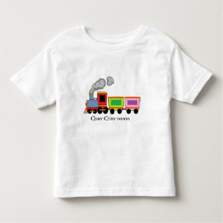 Colorful Choo-Choo Train Toddler T-shirt