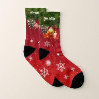 Colorful Christmas Decorations Socks