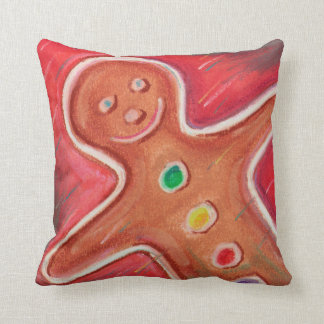 Gingerbread Decorative Pillows : Gingerbread Man Decorative Pillows Zazzle.ca